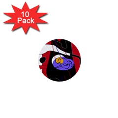 Love 1  Mini Buttons (10 pack)