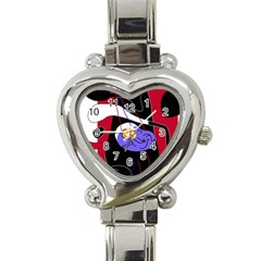Love Heart Italian Charm Watch