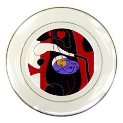 Love Porcelain Plates