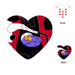 Love Playing Cards (Heart)