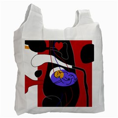Love Recycle Bag (One Side)