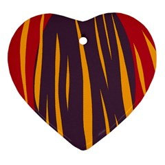 Fire Ornament (Heart)