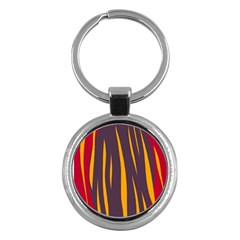 Fire Key Chains (Round)