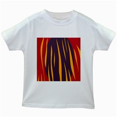 Fire Kids White T-Shirts