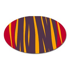 Fire Oval Magnet