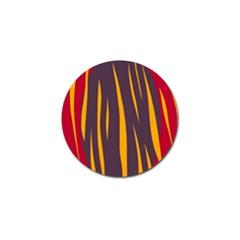 Fire Golf Ball Marker (4 pack)