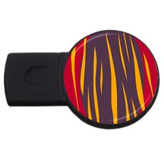 Fire USB Flash Drive Round (1 GB)