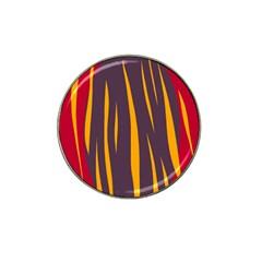 Fire Hat Clip Ball Marker