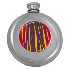 Fire Round Hip Flask (5 oz)