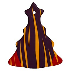 Fire Christmas Tree Ornament (2 Sides)