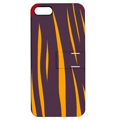 Fire Apple iPhone 5 Hardshell Case with Stand