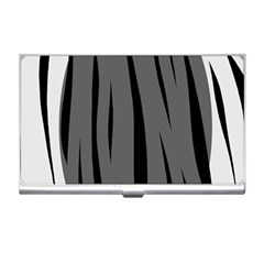 Gray, black and white design Business Card Holders