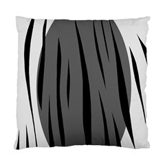 Gray, black and white design Standard Cushion Case (One Side)
