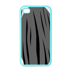 Gray, black and white design Apple iPhone 4 Case (Color)