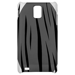 Gray, black and white design Samsung Infuse 4G Hardshell Case