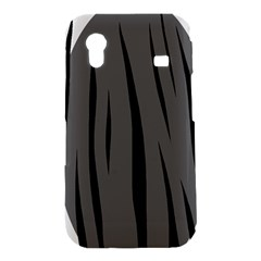 Gray, black and white design Samsung Galaxy Ace S5830 Hardshell Case
