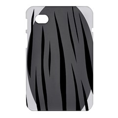 Gray, black and white design Samsung Galaxy Tab 7  P1000 Hardshell Case