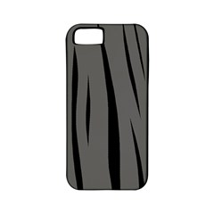 Gray, black and white design Apple iPhone 5 Classic Hardshell Case (PC+Silicone)