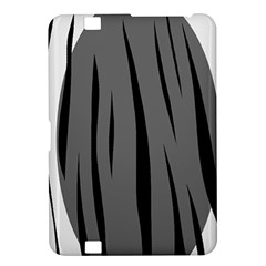 Gray, black and white design Kindle Fire HD 8.9