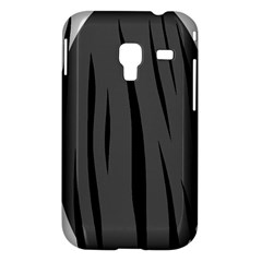 Gray, black and white design Samsung Galaxy Ace Plus S7500 Hardshell Case