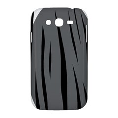 Gray, black and white design Samsung Galaxy Grand DUOS I9082 Hardshell Case