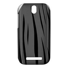 Gray, black and white design HTC One SV Hardshell Case