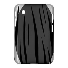 Gray, black and white design Samsung Galaxy Tab 2 (7 ) P3100 Hardshell Case