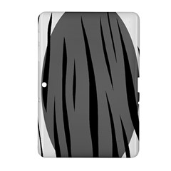 Gray, black and white design Samsung Galaxy Tab 2 (10.1 ) P5100 Hardshell Case