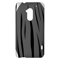 Gray, black and white design HTC One Max (T6) Hardshell Case