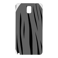 Gray, black and white design Samsung Galaxy Note 3 N9005 Hardshell Back Case