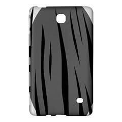 Gray, black and white design Samsung Galaxy Tab 4 (7 ) Hardshell Case