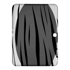 Gray, black and white design Samsung Galaxy Tab 4 (10.1 ) Hardshell Case