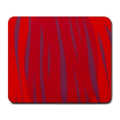 Hot lava Large Mousepads