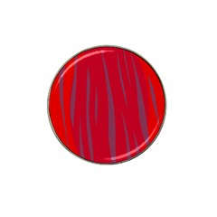Hot lava Hat Clip Ball Marker (10 pack)