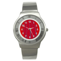 Hot lava Stainless Steel Watch