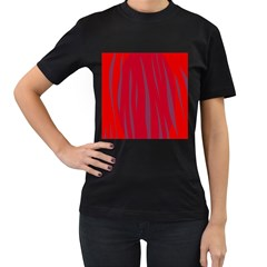 Hot lava Women s T-Shirt (Black)