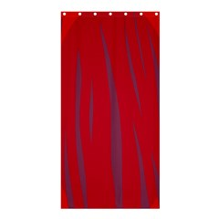 Hot lava Shower Curtain 36  x 72  (Stall)