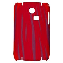Hot lava Samsung S3350 Hardshell Case