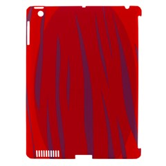 Hot lava Apple iPad 3/4 Hardshell Case (Compatible with Smart Cover)