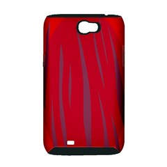 Hot lava Samsung Galaxy Note 2 Hardshell Case (PC+Silicone)