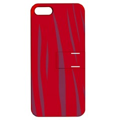 Hot lava Apple iPhone 5 Hardshell Case with Stand