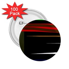 Colorful lines  2.25  Buttons (100 pack)