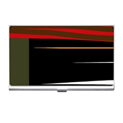 Colorful lines  Business Card Holders