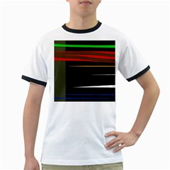 Colorful lines  Ringer T-Shirts