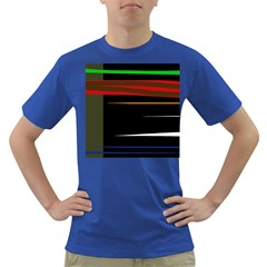 Colorful lines  Dark T-Shirt