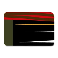 Colorful lines  Plate Mats