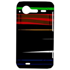 Colorful lines  HTC Incredible S Hardshell Case