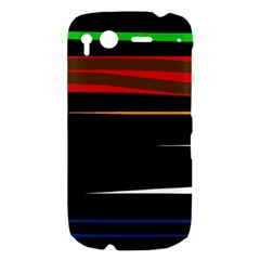 Colorful lines  HTC Desire S Hardshell Case