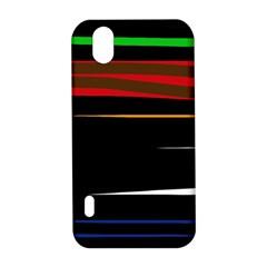 Colorful lines  LG Optimus P970