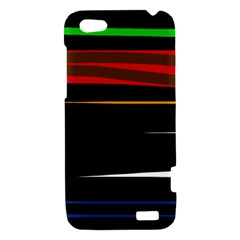 Colorful lines  HTC One V Hardshell Case